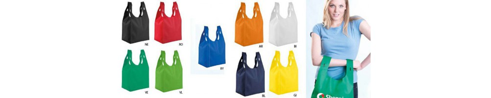 Shopper tnt personalizzate forme varie | arcoshopper.it